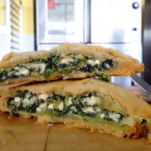 Spinach & 3 Cheese Pocket Pie