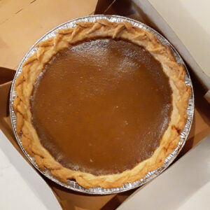 pumpkin white chocolate pie